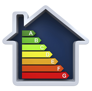 home energy efficiency graphic