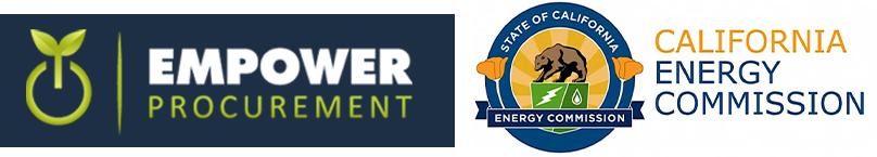 empower procurement and California energy commission logo