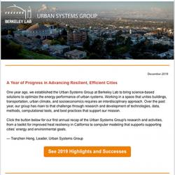 Urban Systems Newsletter