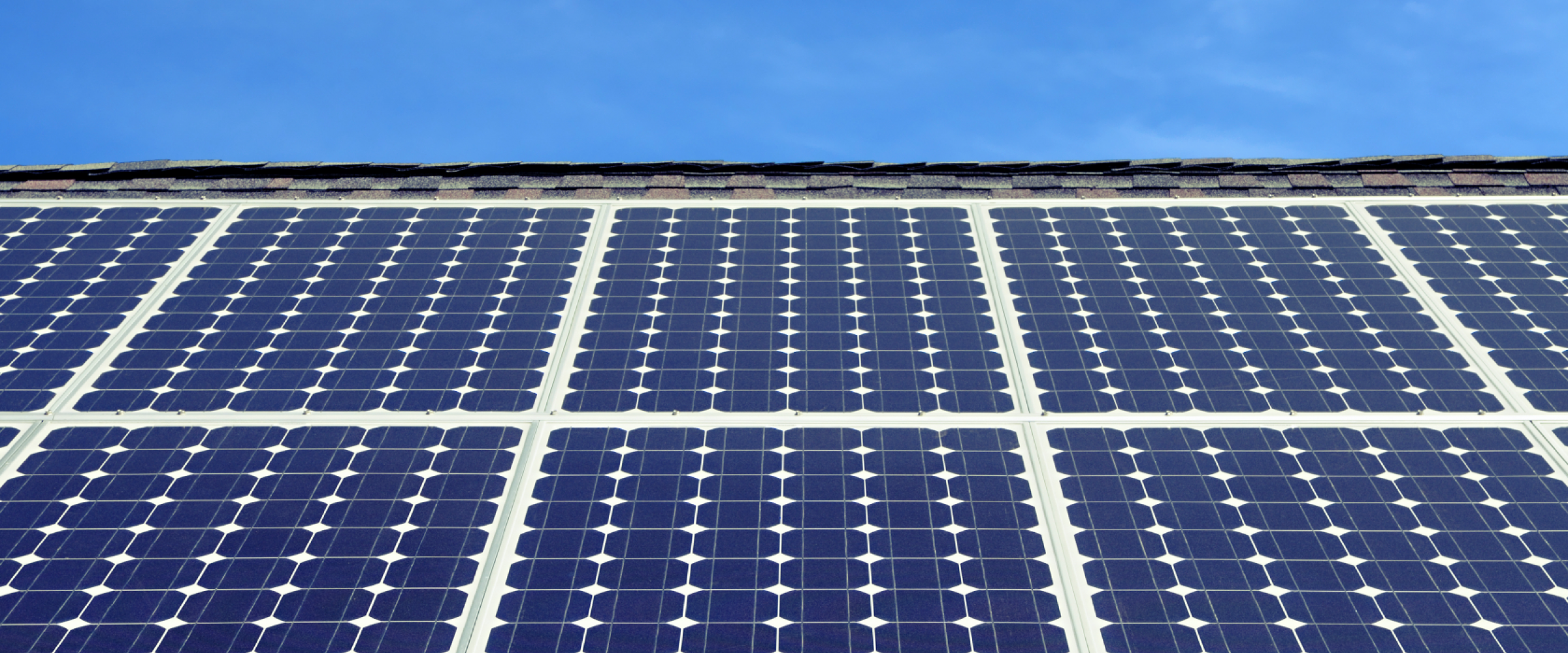 solar panels sky